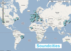 Sound of cities, city sounds. Souncities by stanza