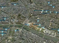 sensors all over London.Datacities.
